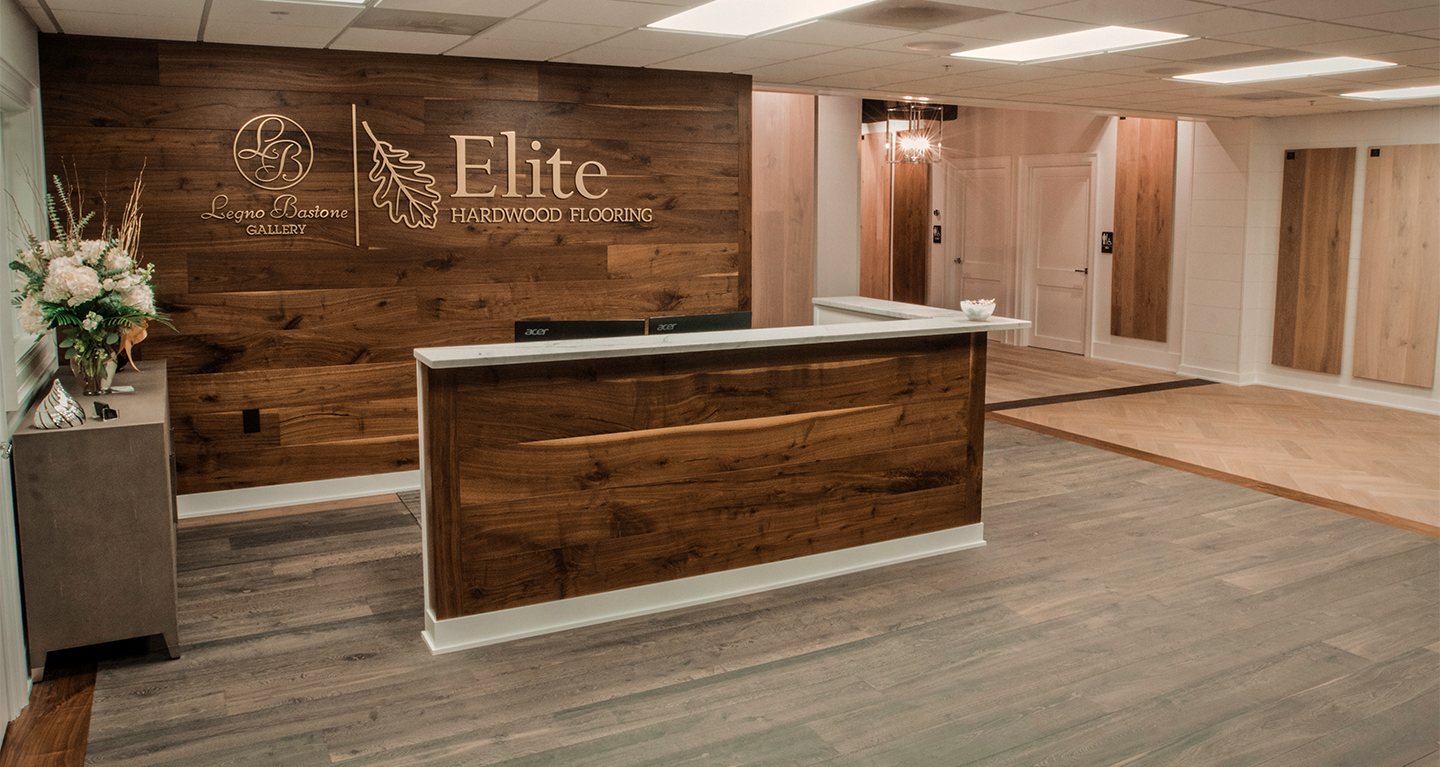 Elite Hardwood Flooring Showroom