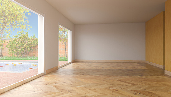 Chevron Hardwood Floor Patter