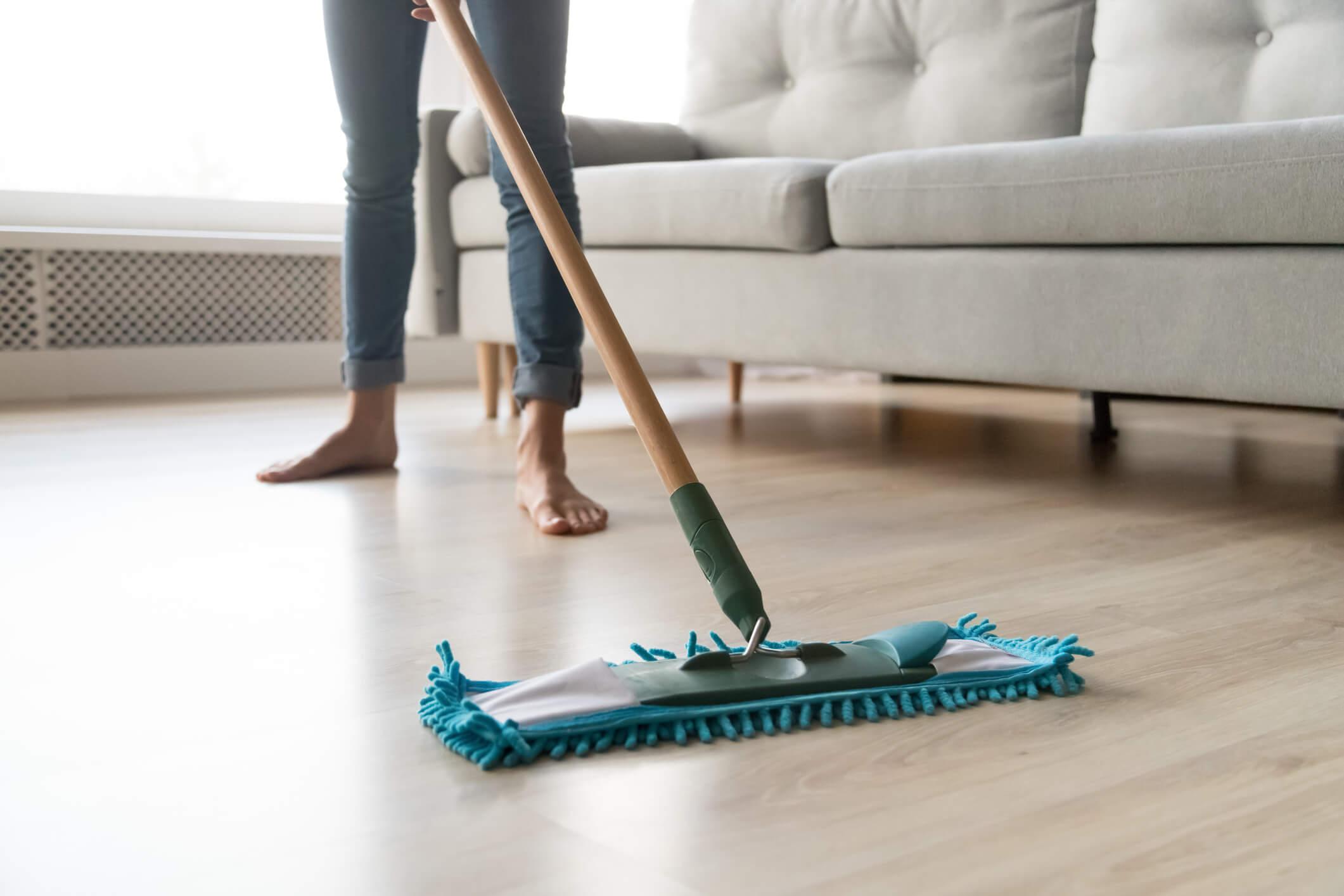 life of your hardwood floors mop